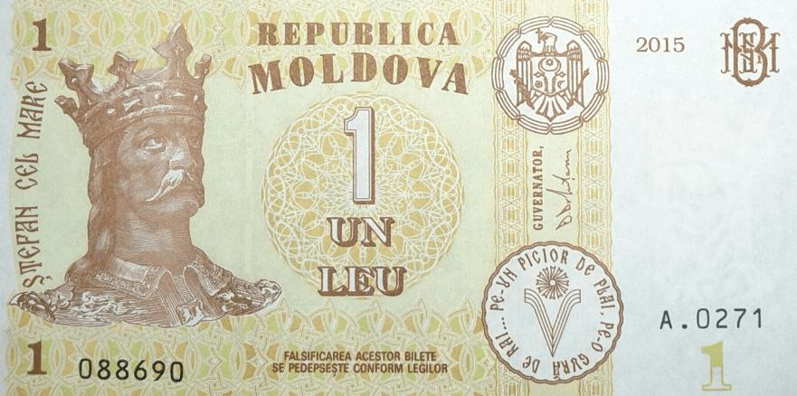 1 moldovan leu